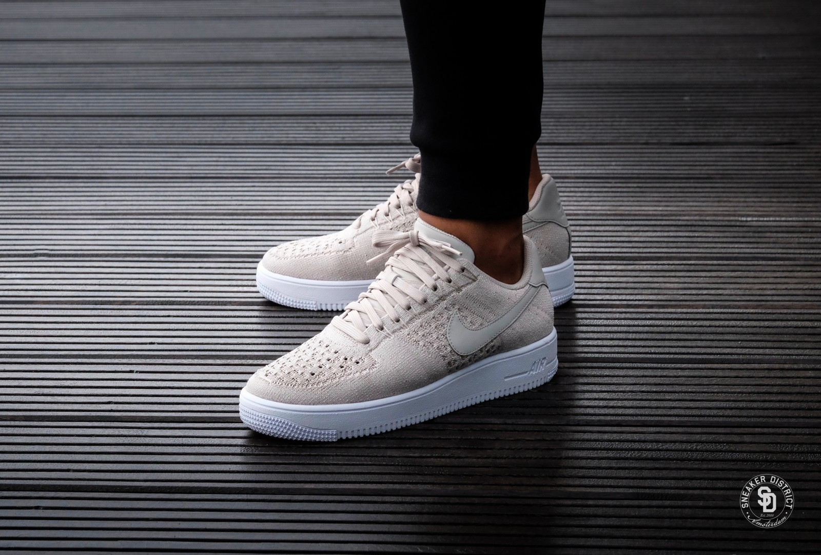 Nike Air Force 1 Ultra flyknit Low StringString White 817419 200
