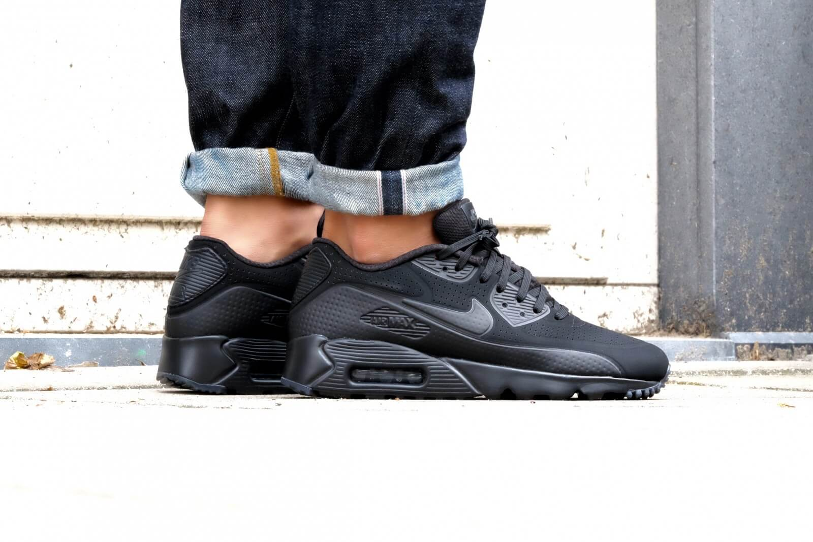 Nike Air Max 90 Ultra Moire Black Black 819477 010