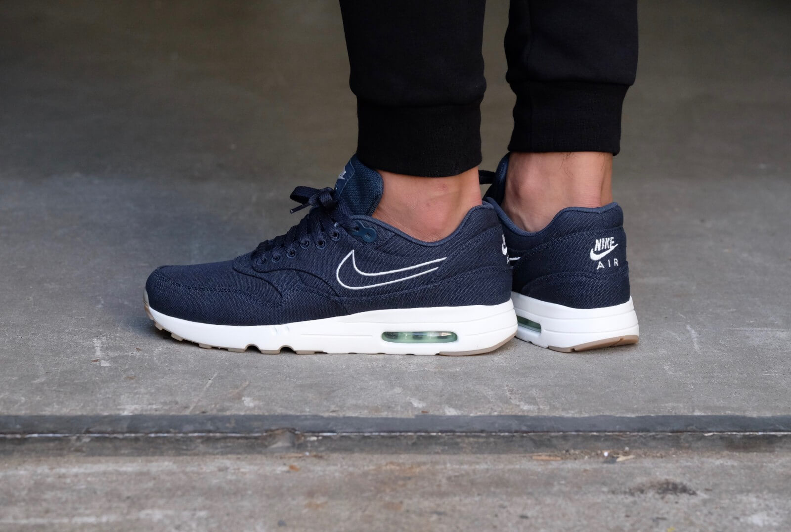 Nike Air Max 1 Ultra 2.0 Textile Armory NavyArmory Navy Sail Fresh Mint 898009 400
