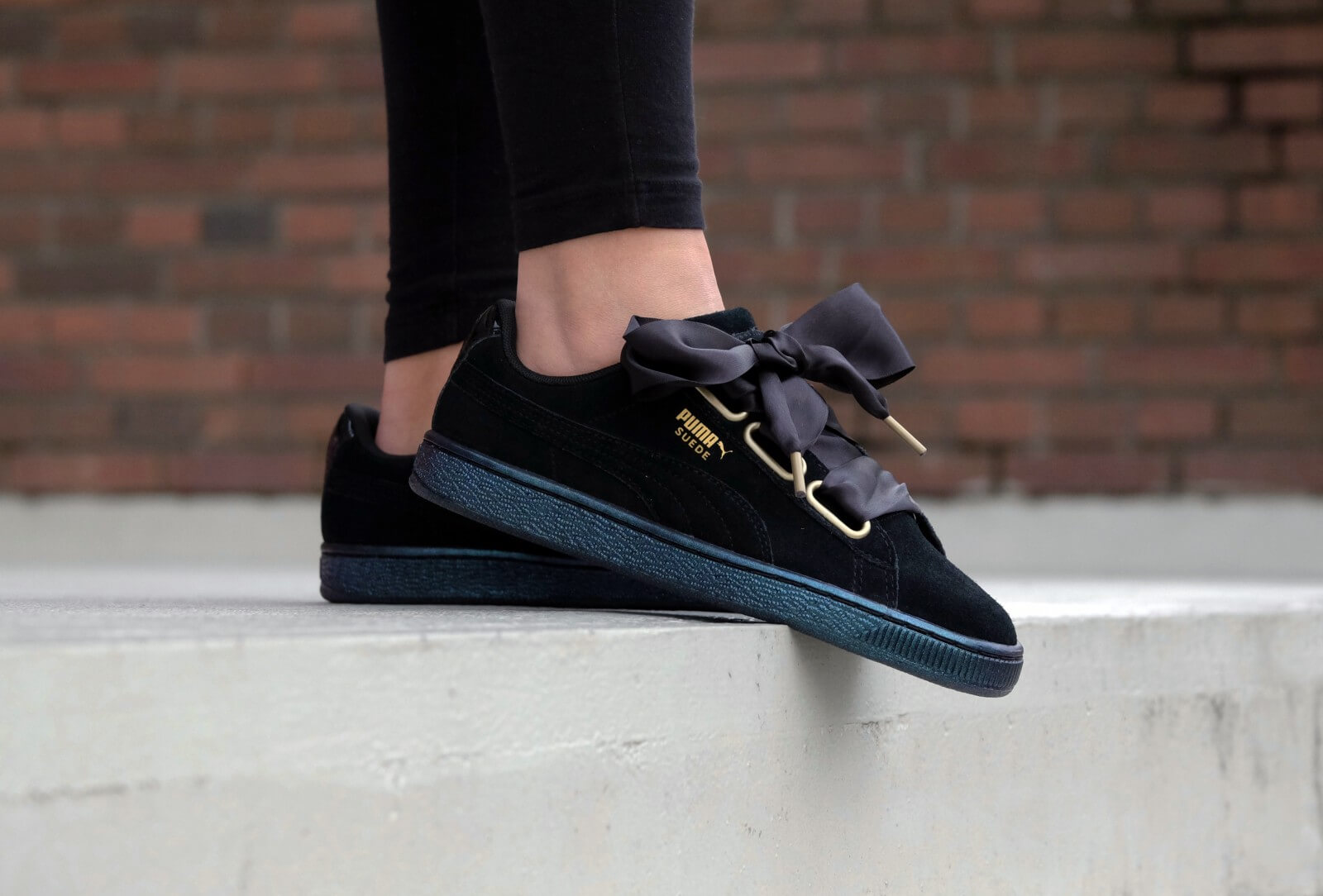 Puma WMNS Suede Heart Satin Wn