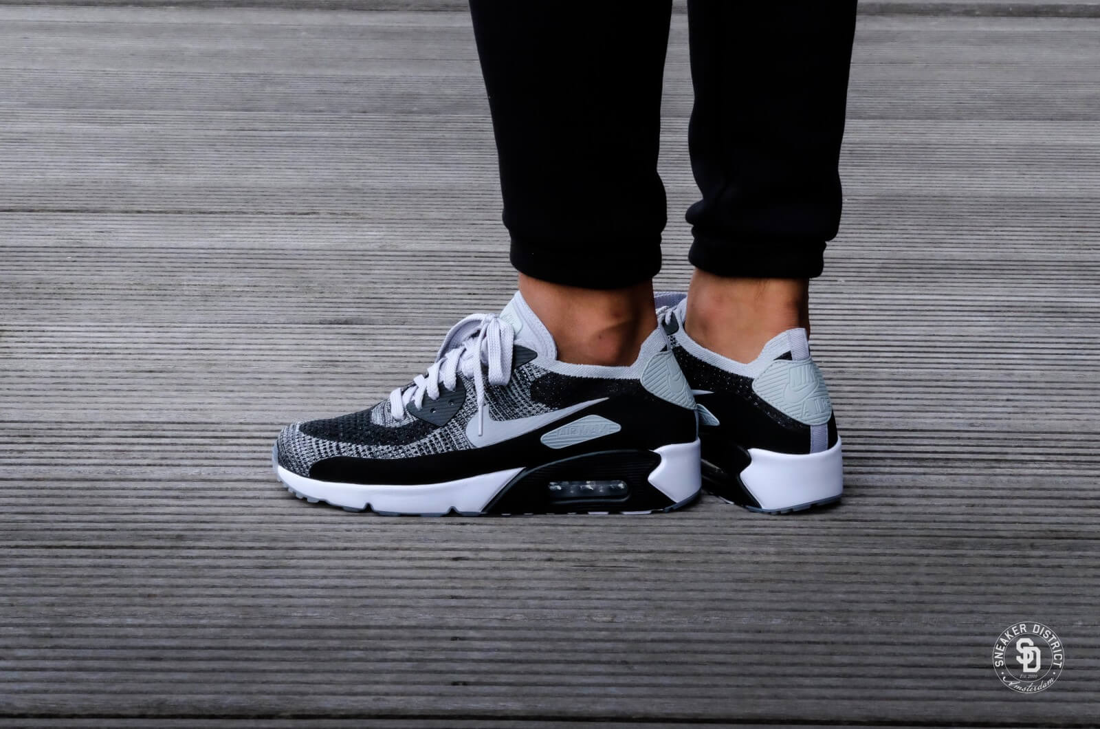 Nike Air Max 90 Ultra 2.0 Flyknit Cool Grey Sneaker