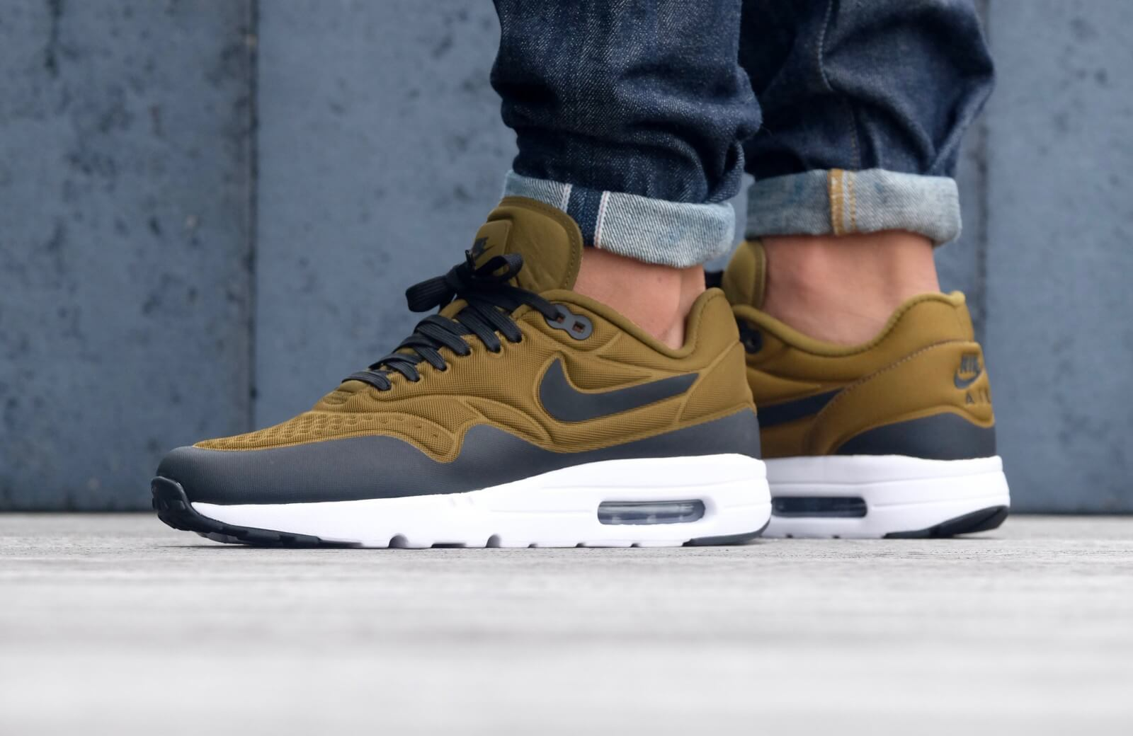 Nike Air Max 1 Ultra Special Edition Olive Flak Black White