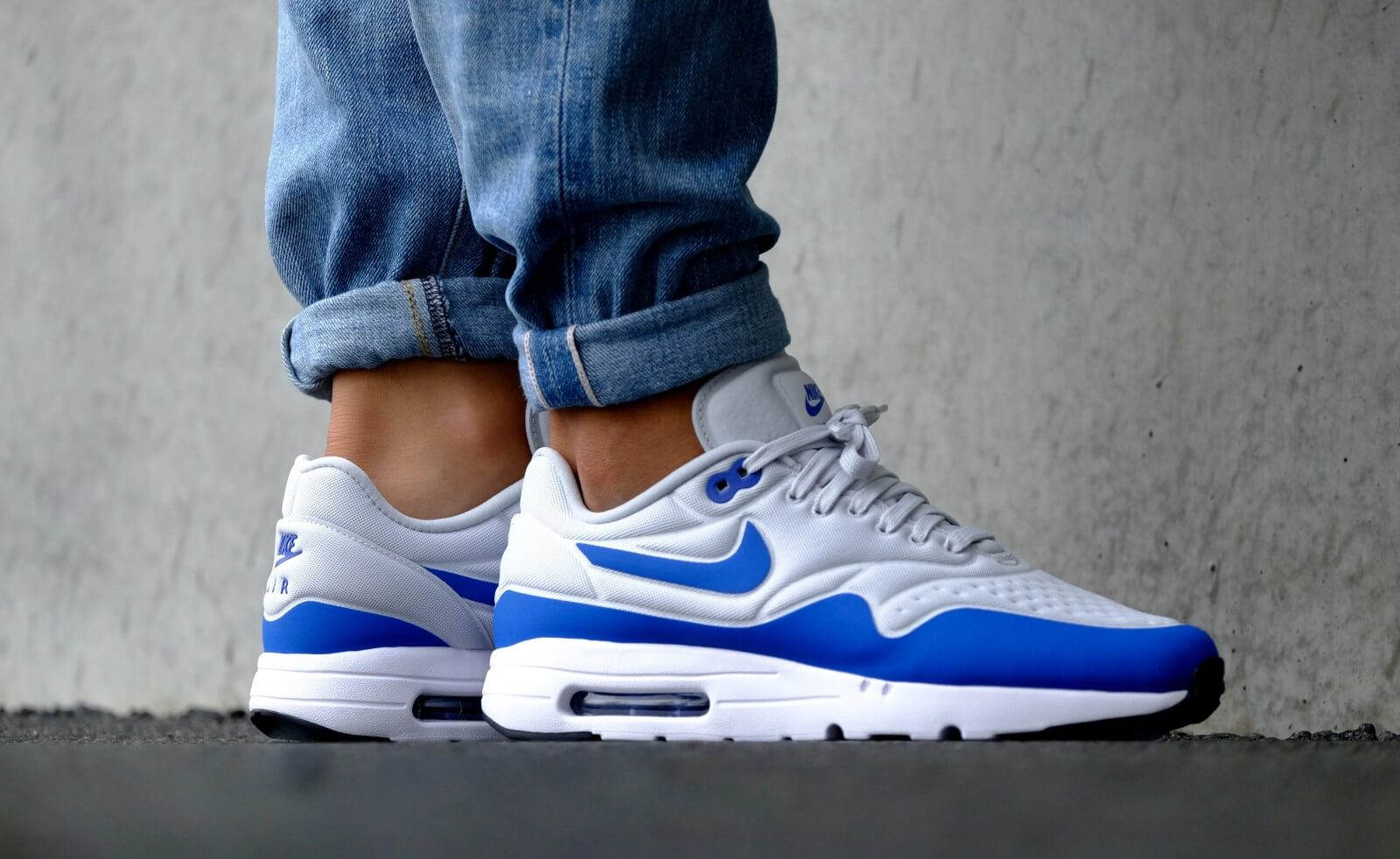 Nike Air Max 1 Ultra Special Edition Pure Platinum Game Royal 845038 004