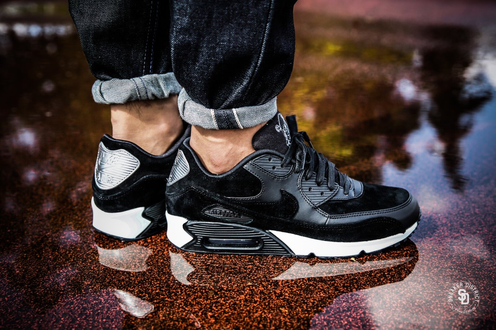 Nike Air Max 90 Premium black black off white