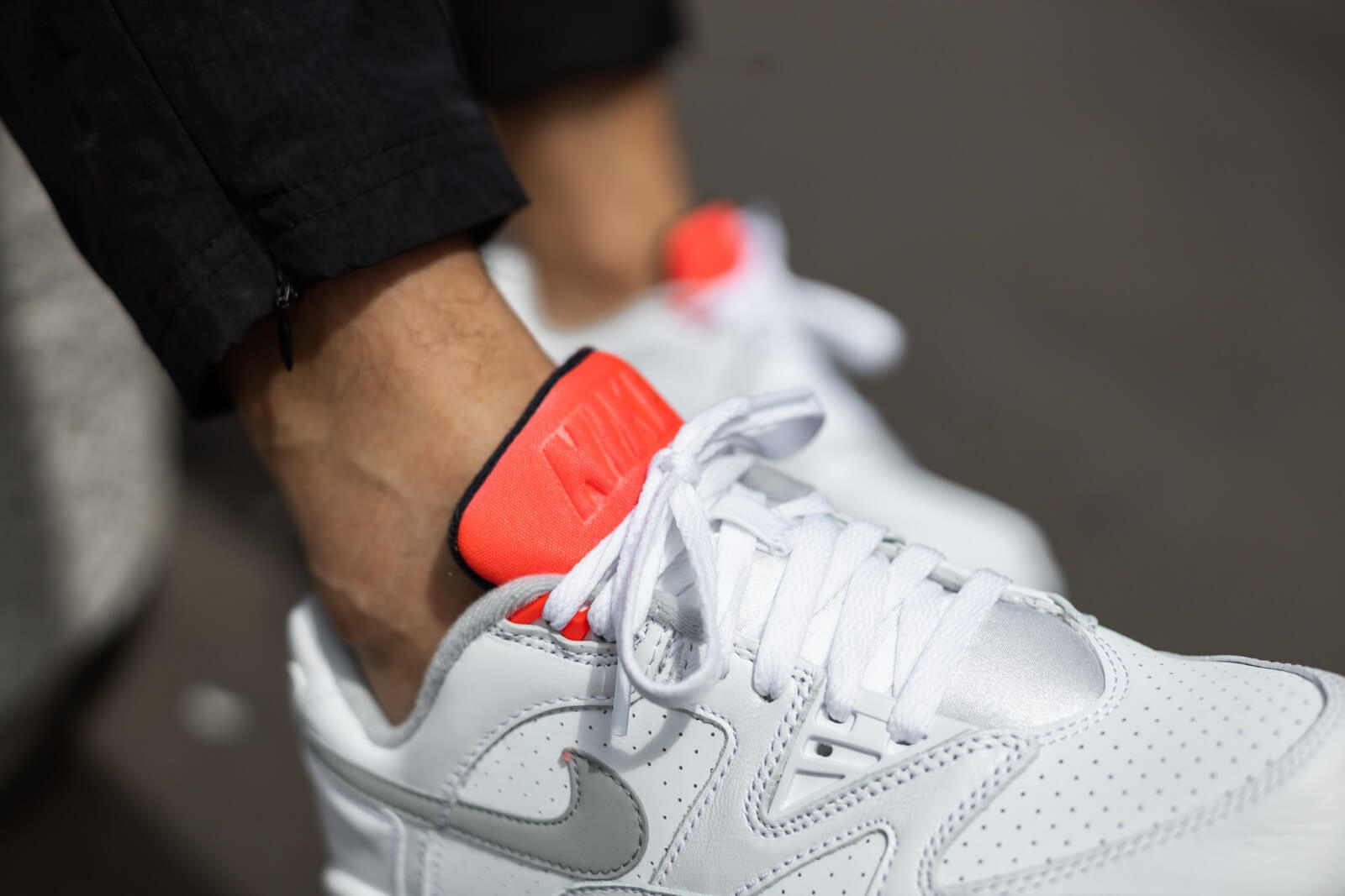 Nike Air Cross Trainer 3 Low WhiteLT Smoke Grey Bright Crimson CN0924 101