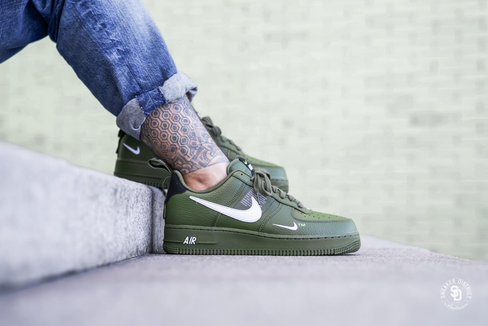 Nike Air Force 1 '07 LV8 Utility (Olive Canvas White