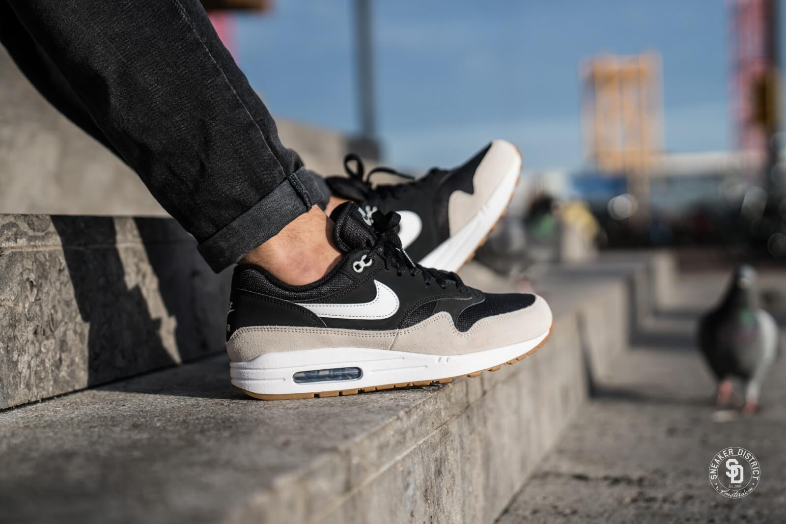 cheaper c179d c6321 ... get nike air max 1 black white light bone 0d21e 50e15