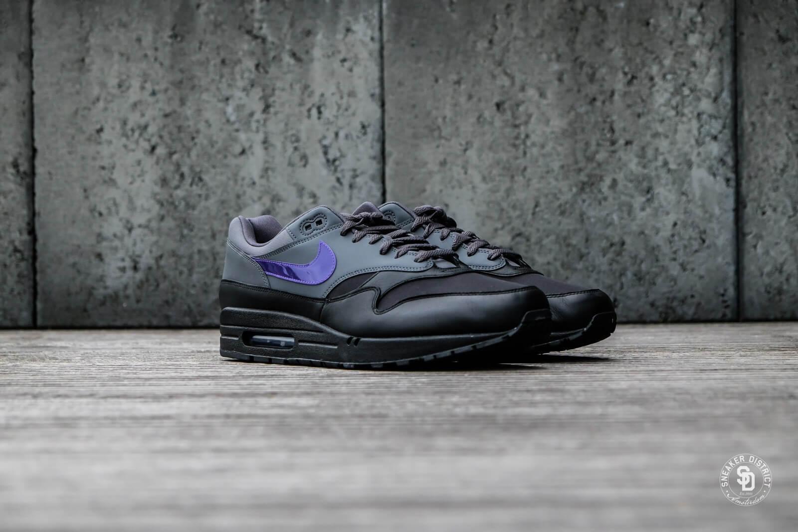 Nike Air Max 1 Dark GreyFierce Purple Black AR1249 002