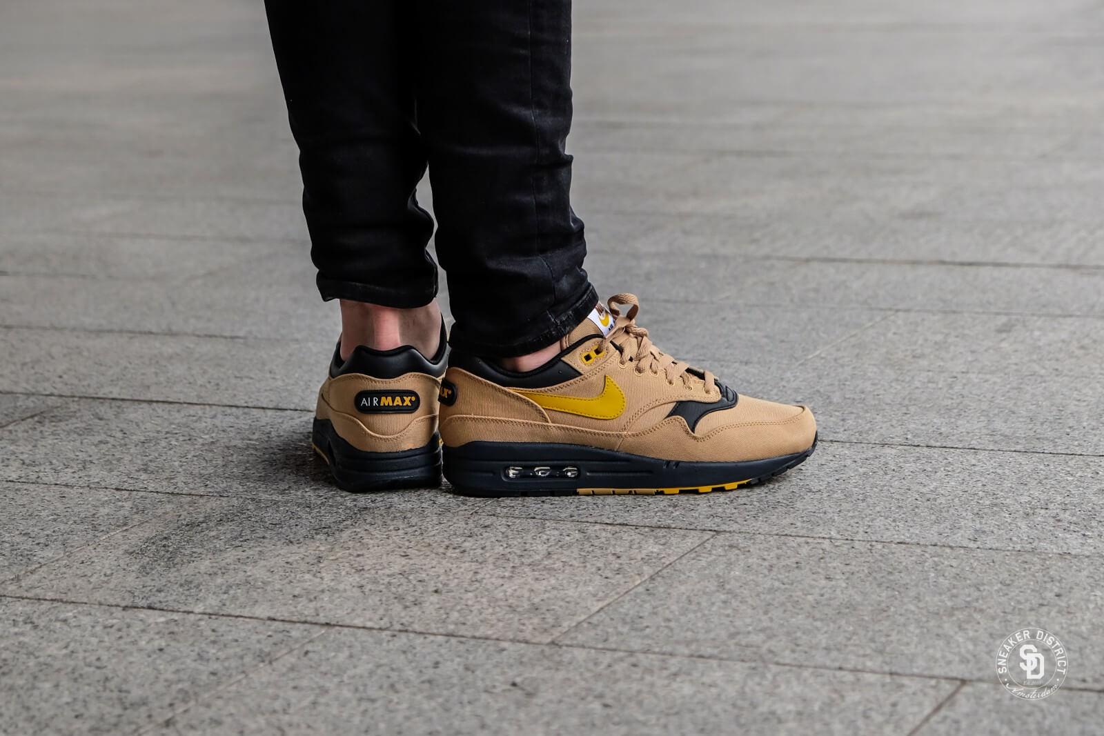 Nike Air Max 1 Premium Elemental GoldMineral Yellow 875844 700