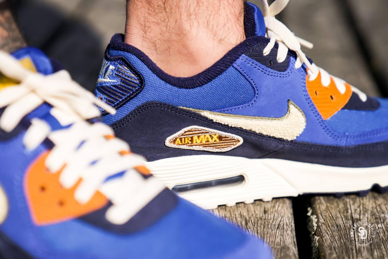 Lifestyle Shoes Nike Air Max 90 Premium Phanto Gunsmoke