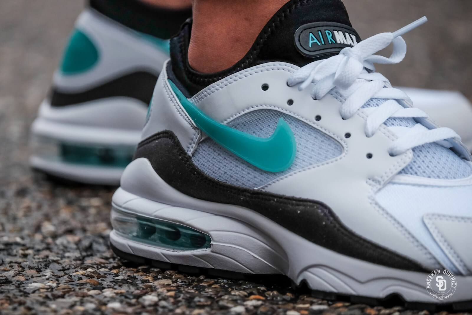 nike air max 93 Weiß sport turquoise schwarz