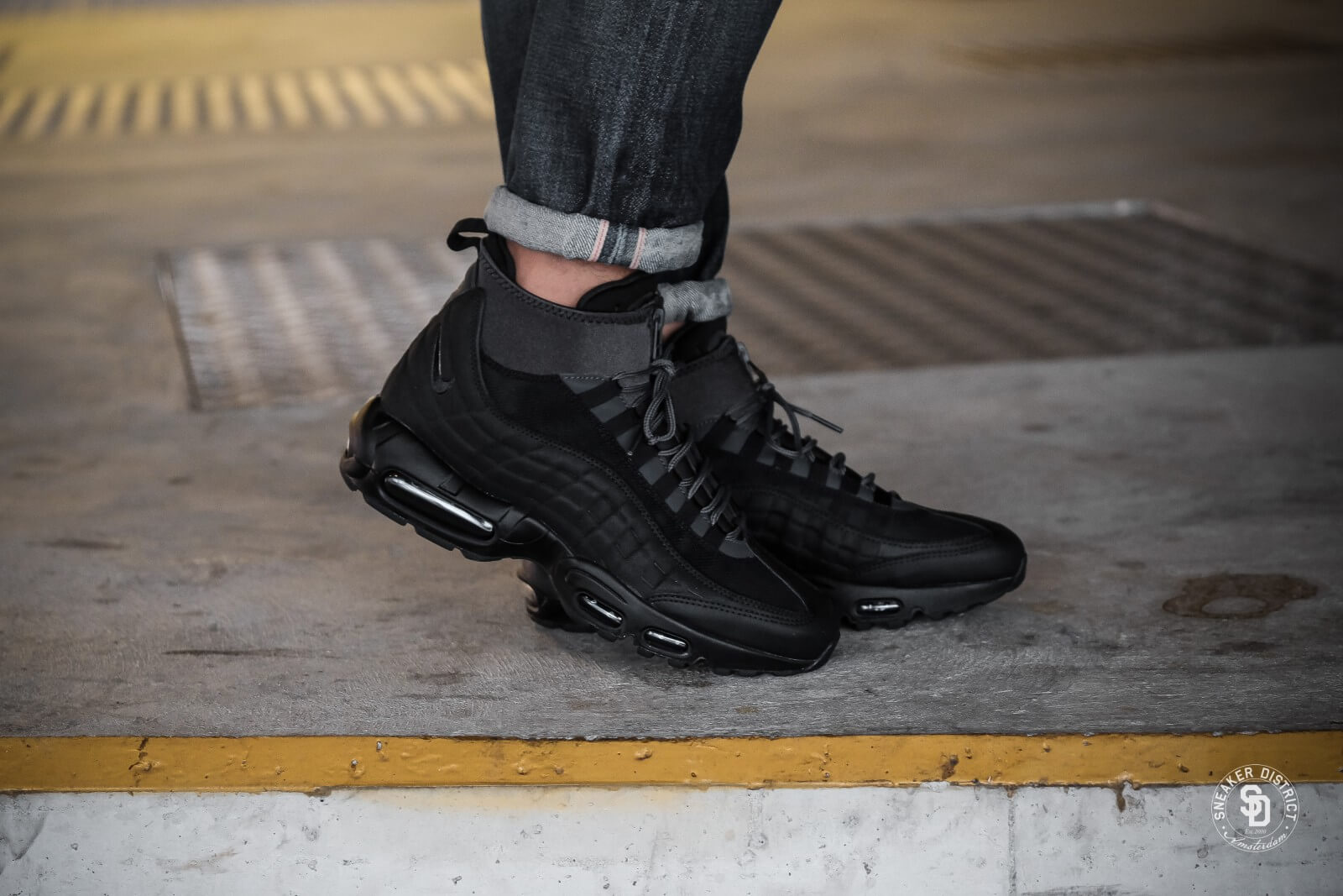 80717cc3cd ... wholesale nike air max 95 sneakerboot black anthracite white 46ee6  2890b ...
