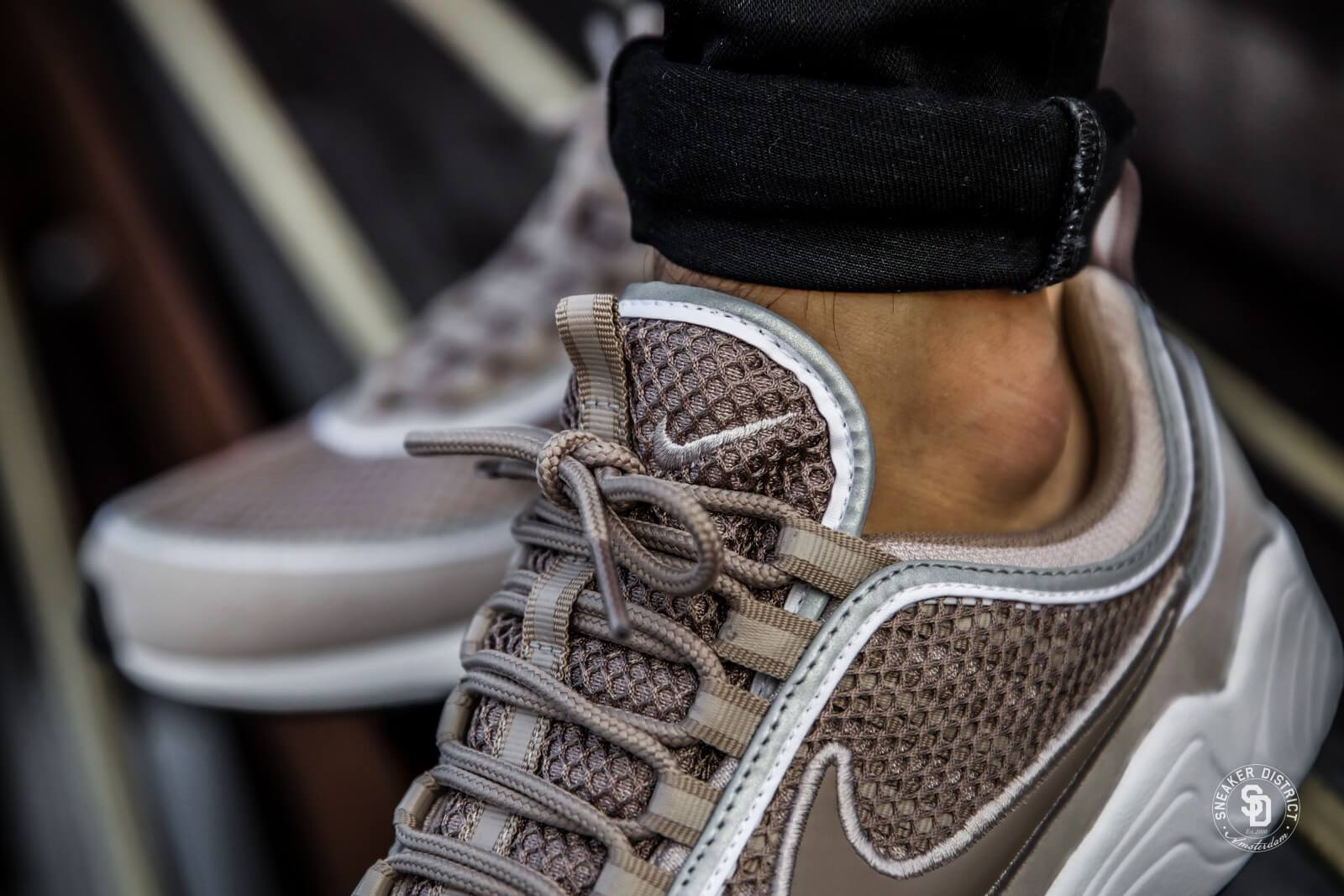 cheap for discount 501a1 d34b8 ... discount code for nike air zoom spiridon 16 special edition moon  particle sepia stone 344eb 4de23