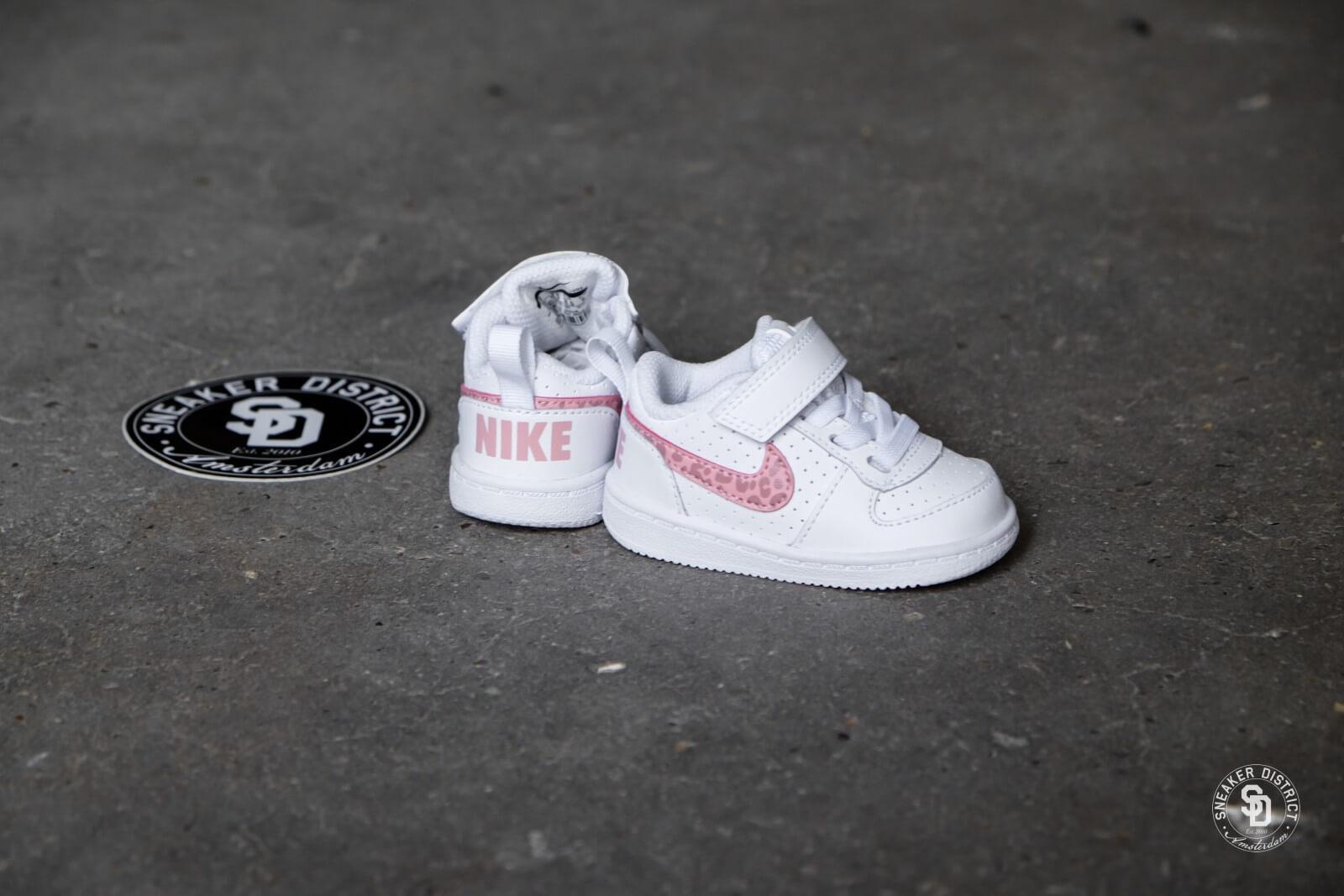Nike Court Borough Low TD WhiteRust Pink 870030 101