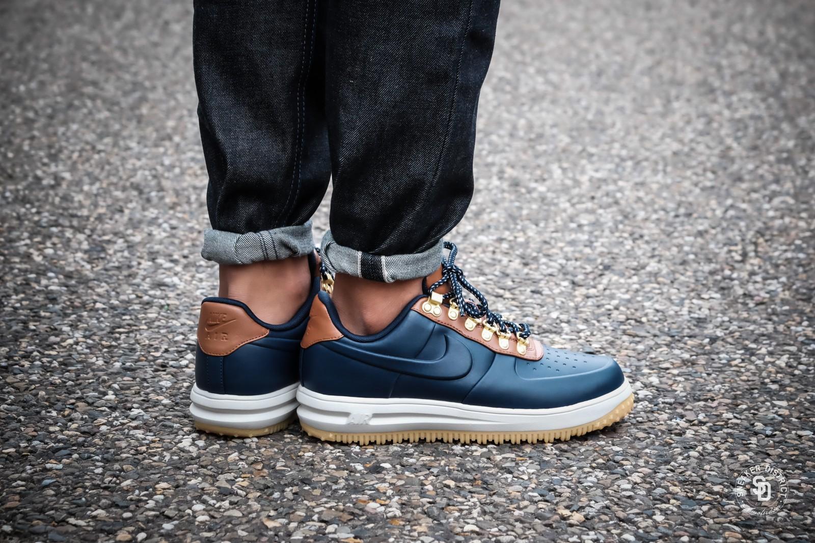 Nike Lunar Force 1 Low Duckboot ObsidianSaddle Brown sneakers | Online sneaker store | Sneaker District