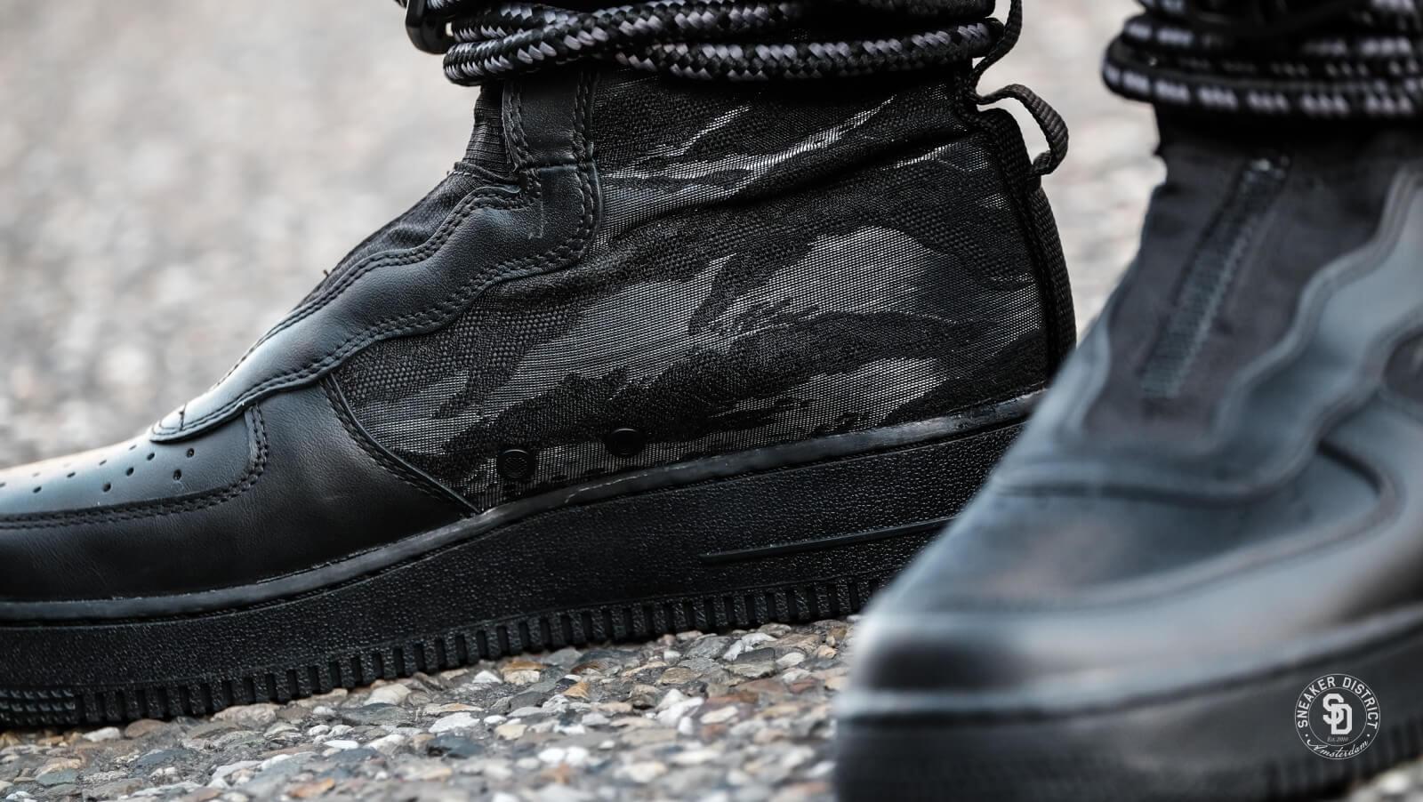 Nike SF Air Force 1 Hi BlackDark Grey AA1128 002