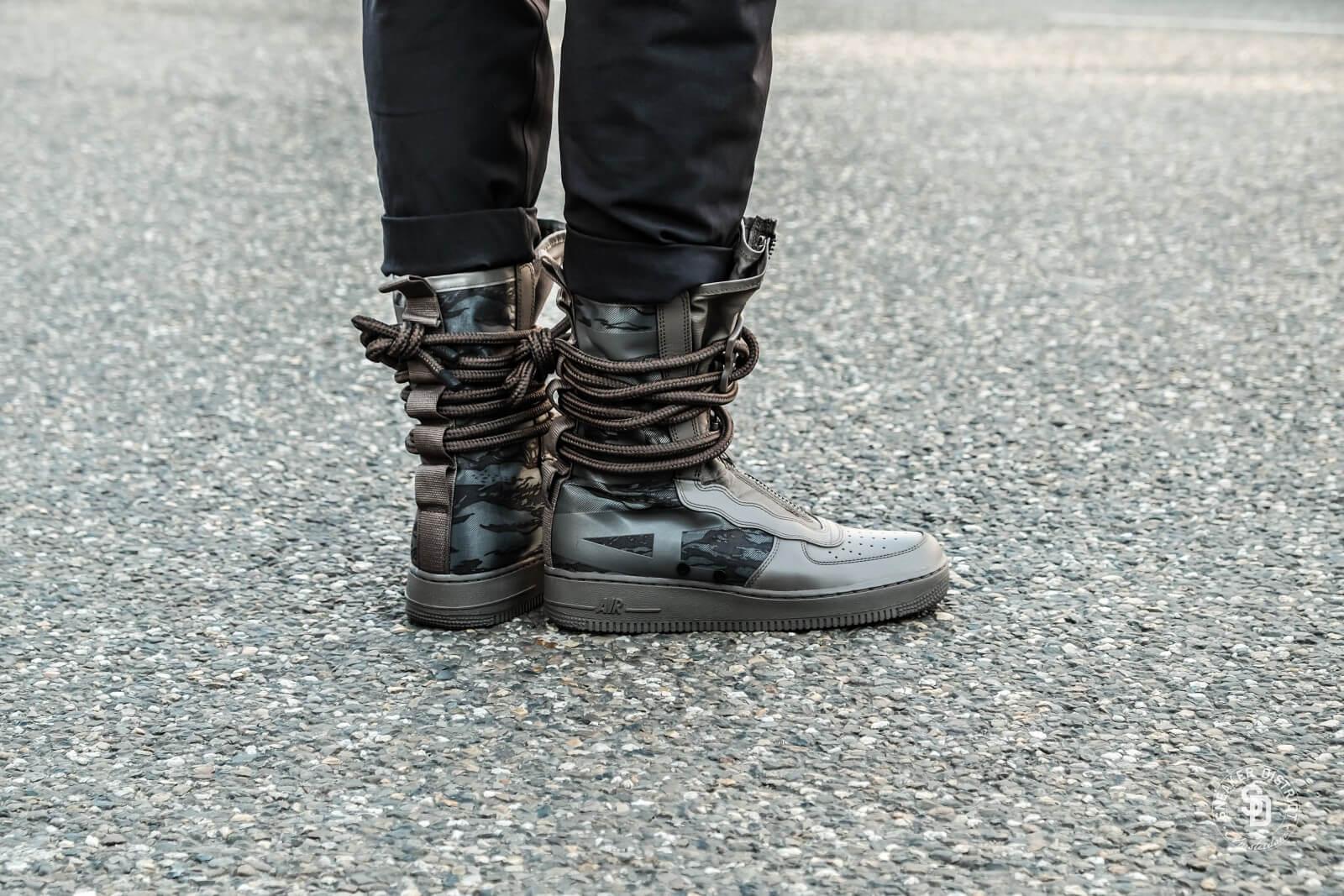 Details about Nike SF Air Force 1 High Boots Ridgerock Black