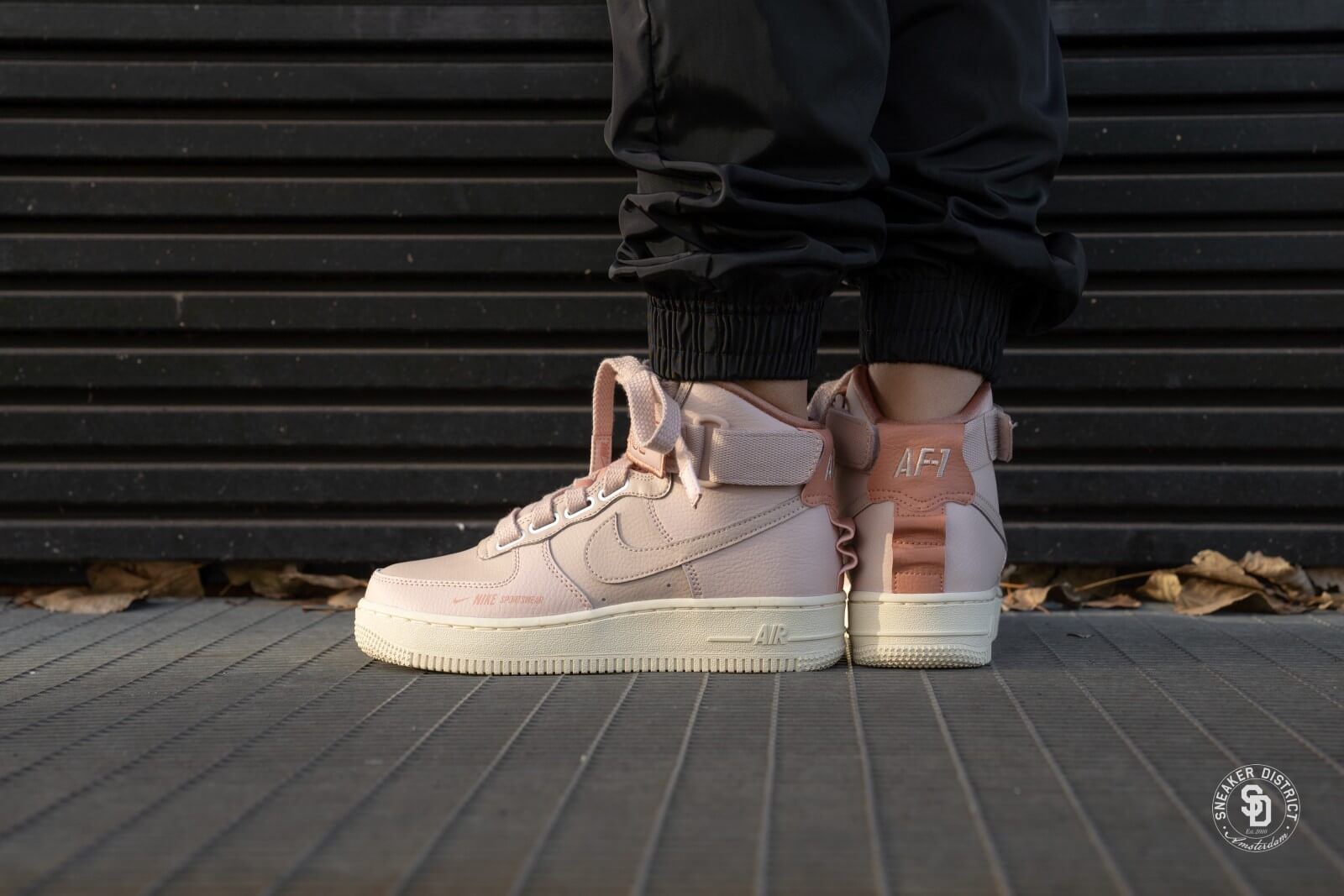 Nike Air Force 1 High Utility Particle Beige For Women