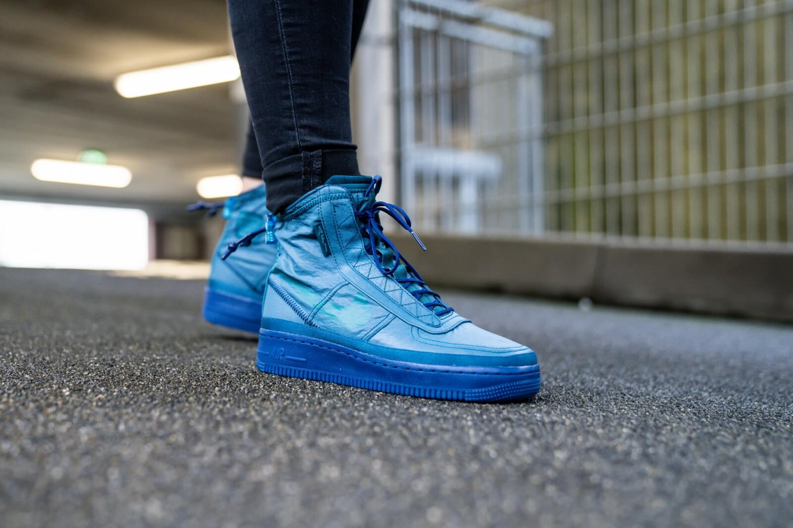 Nike Women's Air Force 1 Shell Midnight TurquoiseGeode Teal
