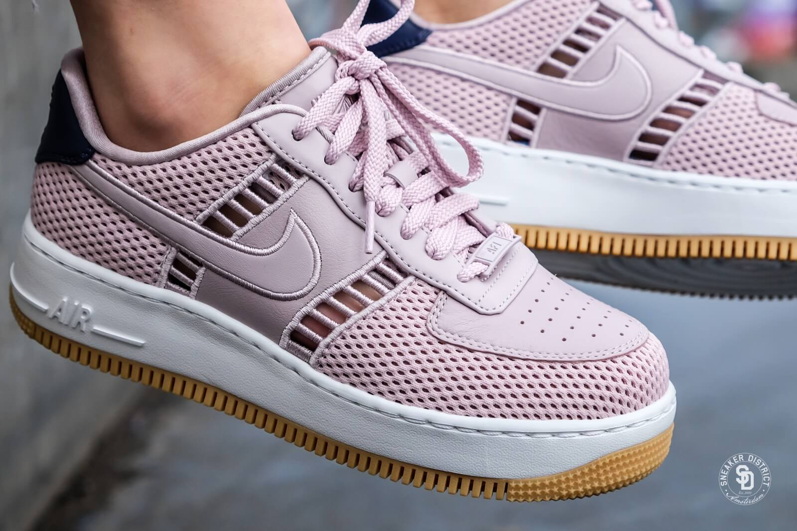 Nike Air Force 1 Upstep Particle Pink (W)