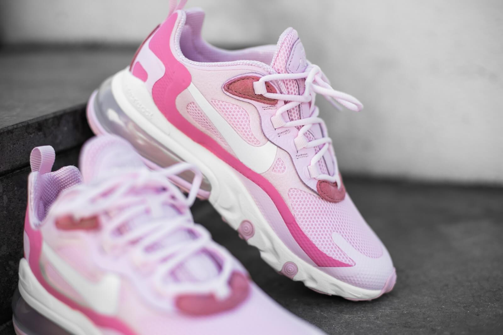 Nike Women's Air Max 270 React Pink FoamWhite Digital Pink