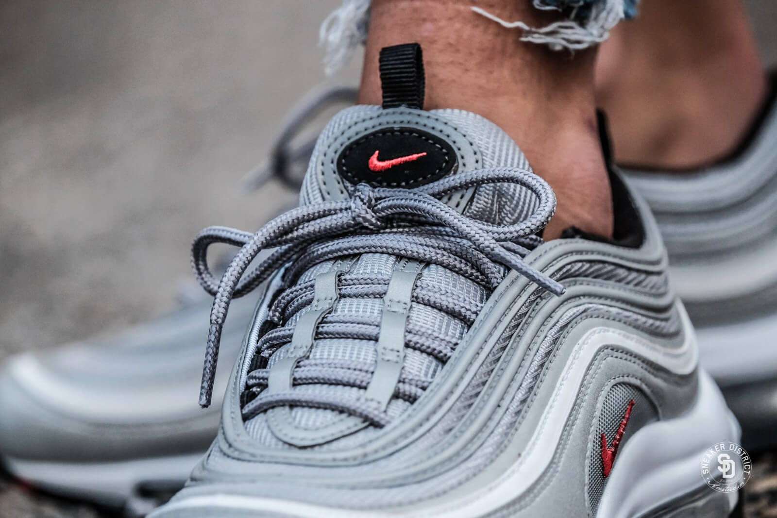 Nike Women's Air Max 97 (Metallic Red | Oil Grey) | SNIPES