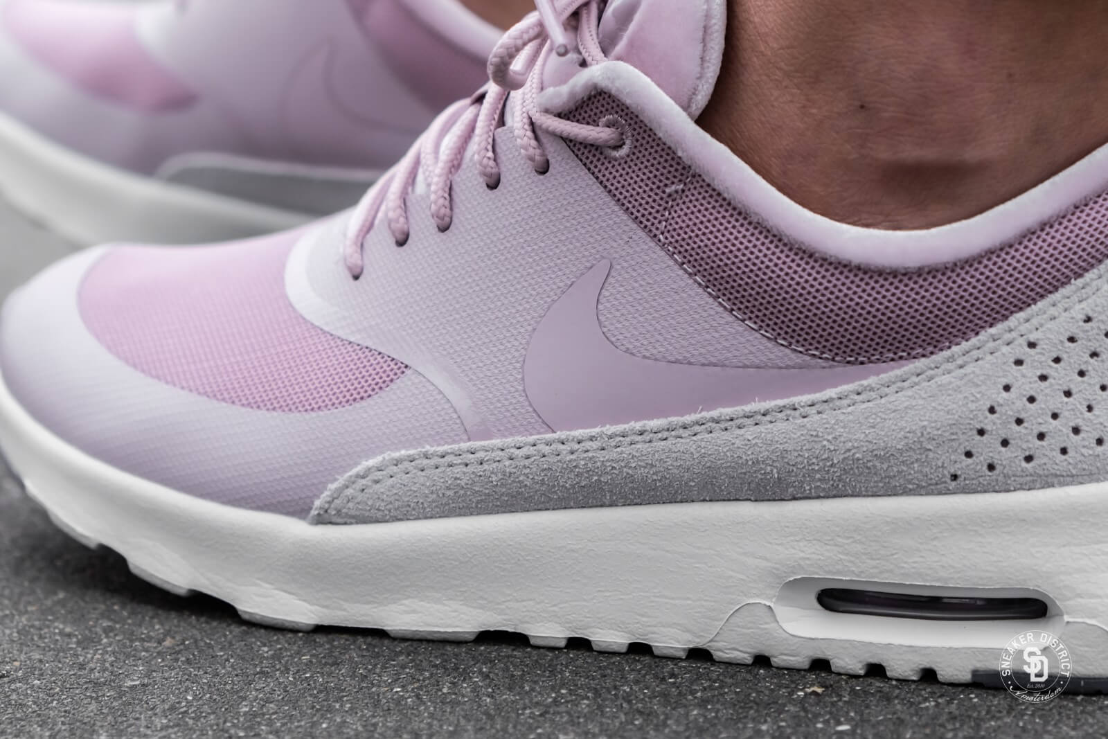 a14e0f9ad2 wholesale nike womens air max thea lx particle rose vast grey e17fb cb899