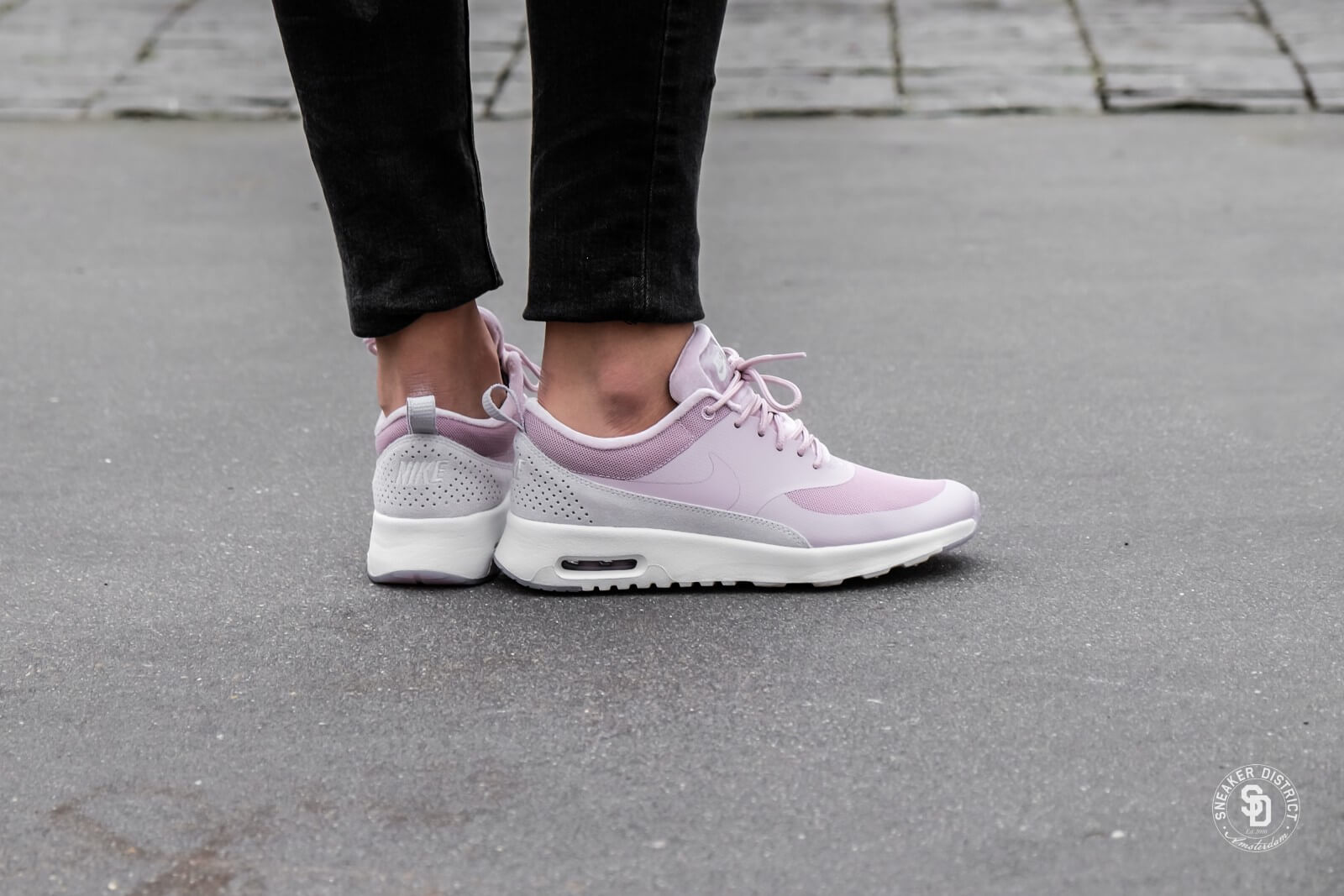 30edae04af ... wholesale nike womens air max thea lx particle rose vast grey e17fb  cb899