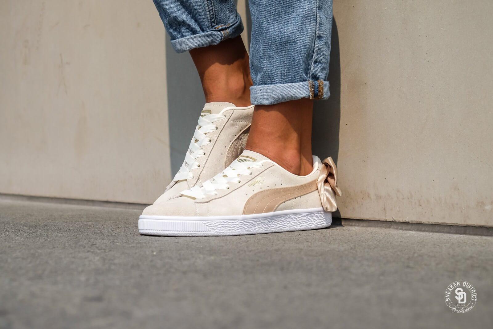 New Deals on PUMA Women's Suede Bow Varsity Sneaker