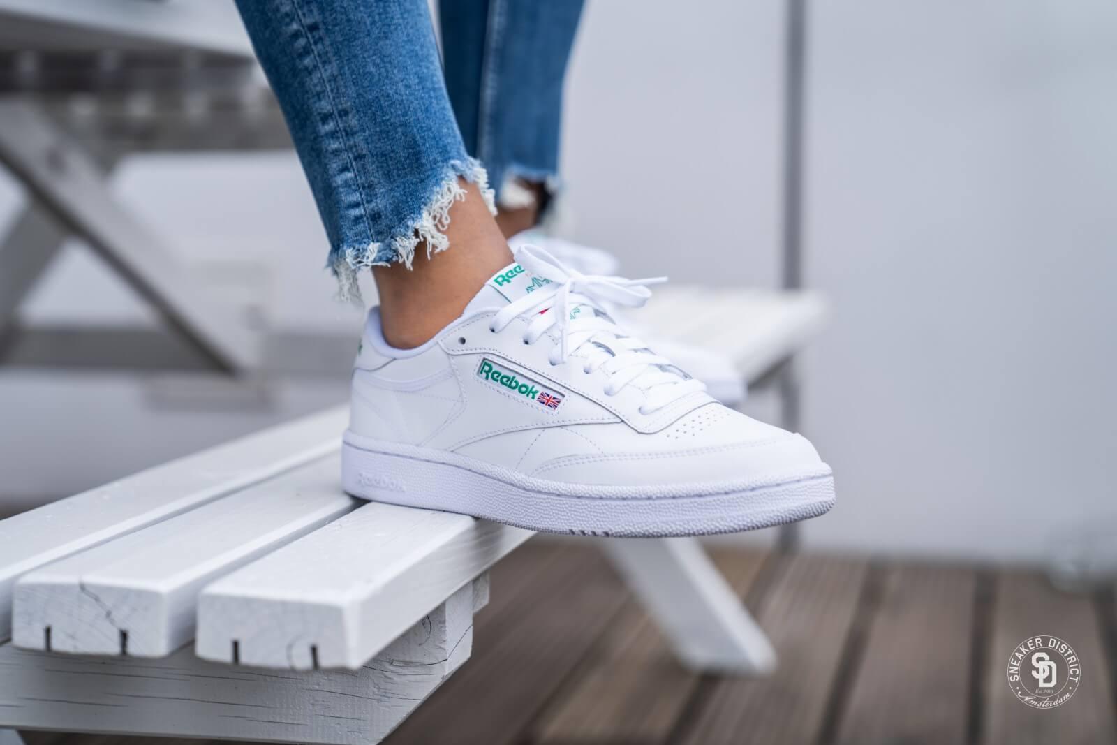Club C 85 Reebok Alle Schuhe in white green für Damen | Titus