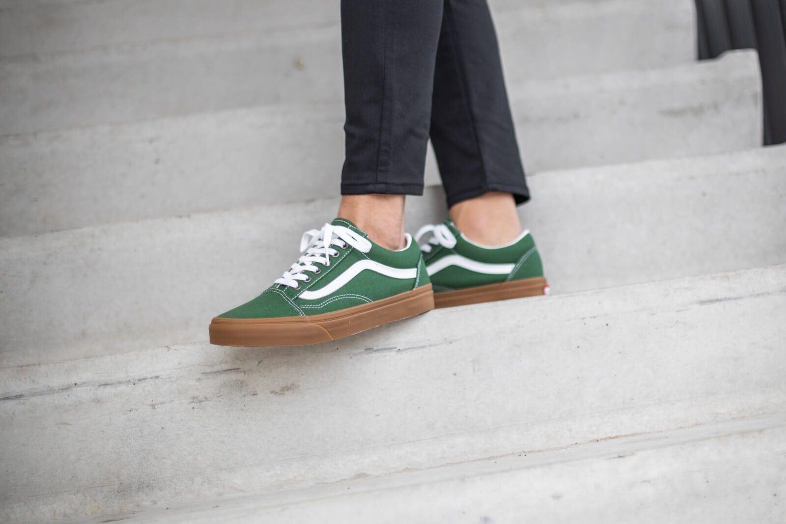 Vans Old Skool GumGreener PasturesTrue White VN0A4U3BWYY1