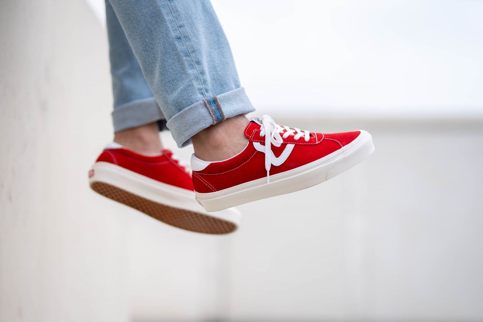 Vans Style 73 DX Anaheim Factory OG RedWhite VN0A3WLQVTM