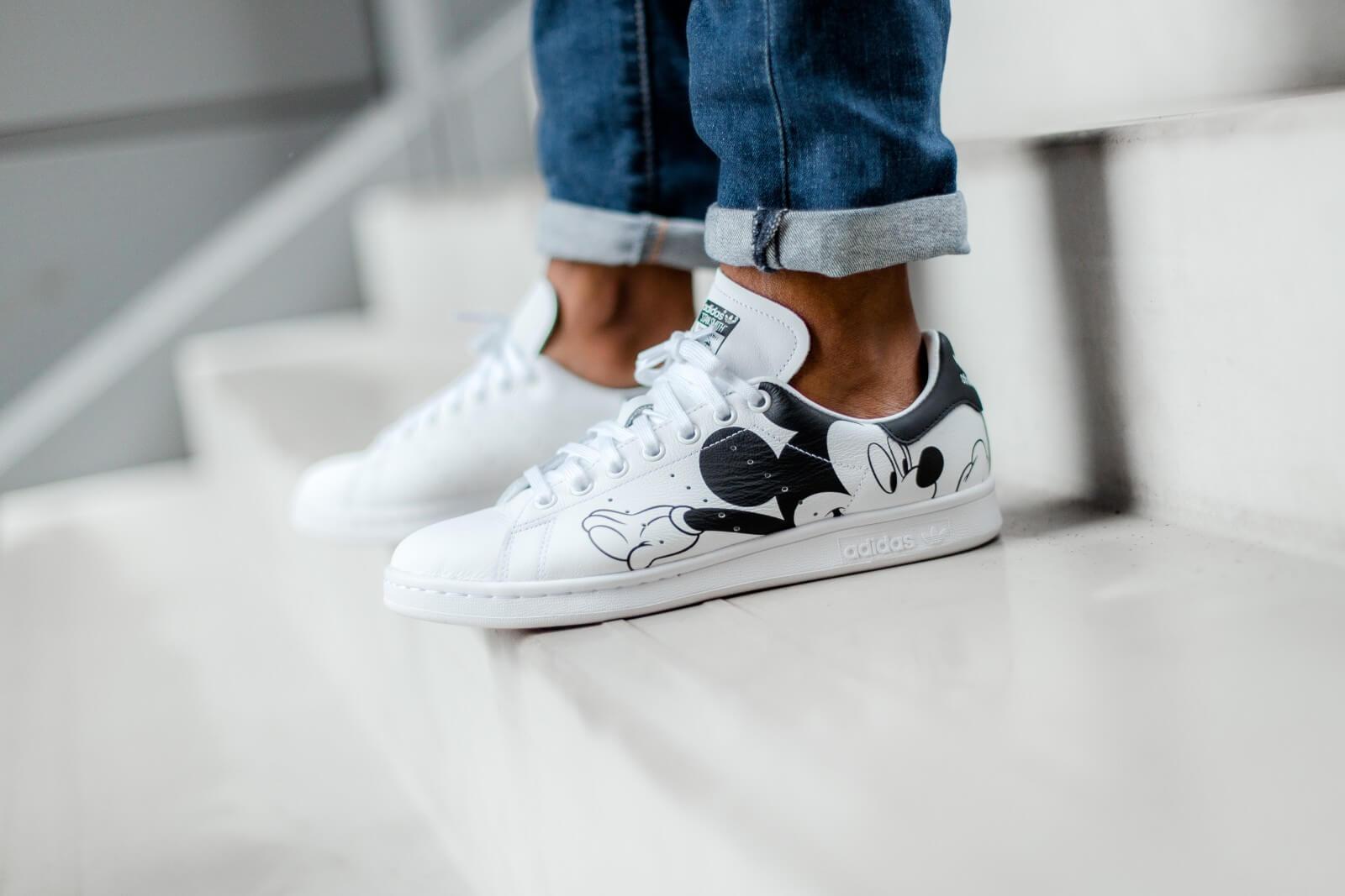 Adidas x Disney Superstar Footwear WhiteCore Black