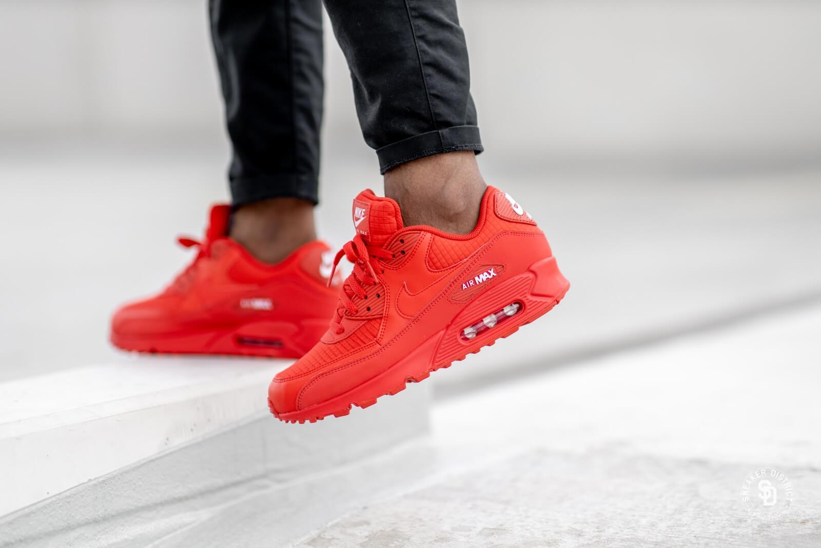 Nike Air Max 90 Essential University RedWhite AJ1285 602