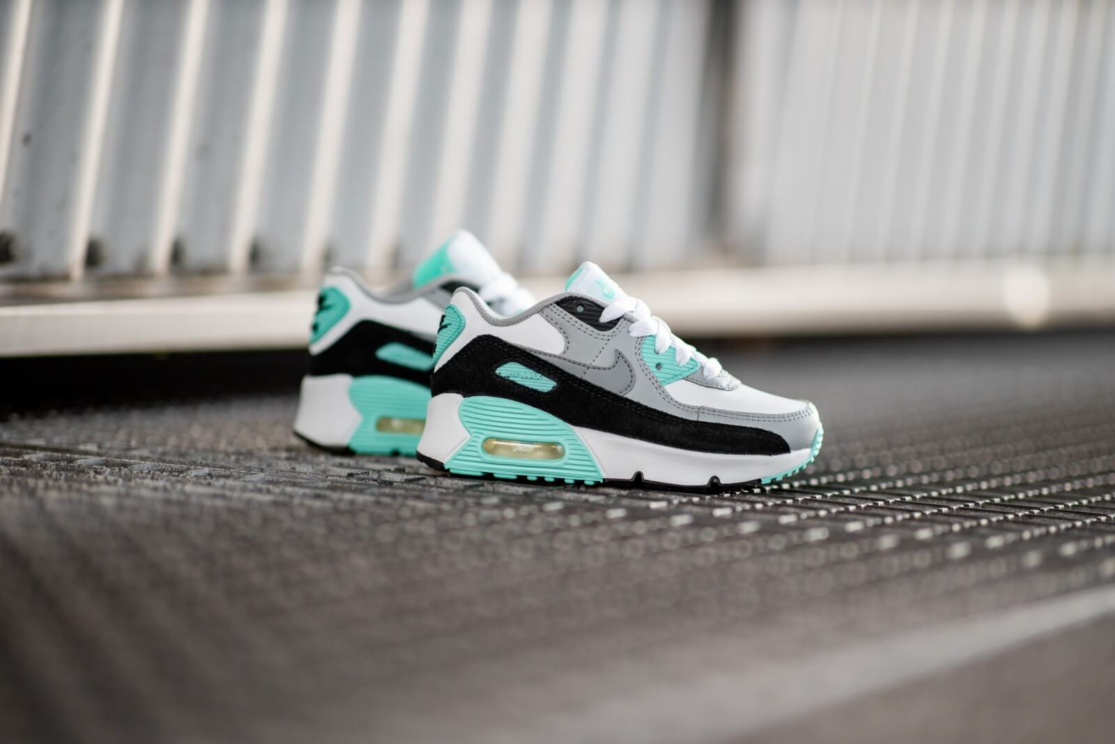 Nike Air Max 90 Leather PS WhiteParticle Grey CD6867 102