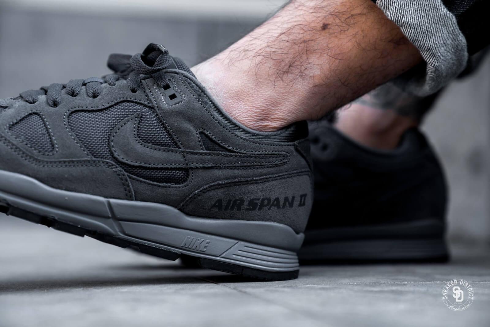 Nike Air Span II Premium AnthraciteDark Grey Black AO1546 001