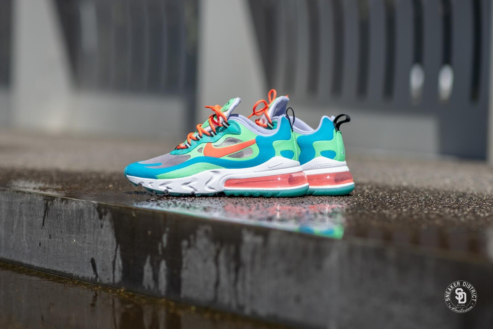 Nike Women's Air Max 270 React (Electro Green   Flash