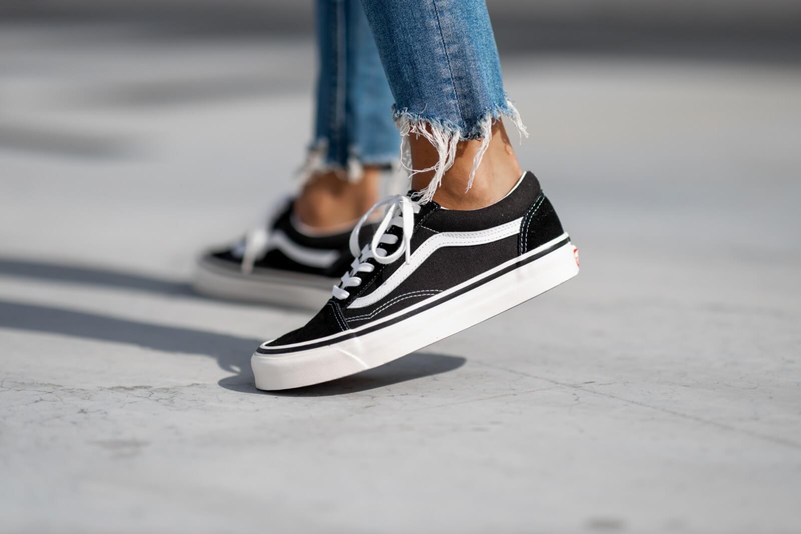 VANS Anaheim Factory Old Skool 36 Dx Schuhe ((anaheim Factory) Blacktrue White) Herren Weiß, Größe 43