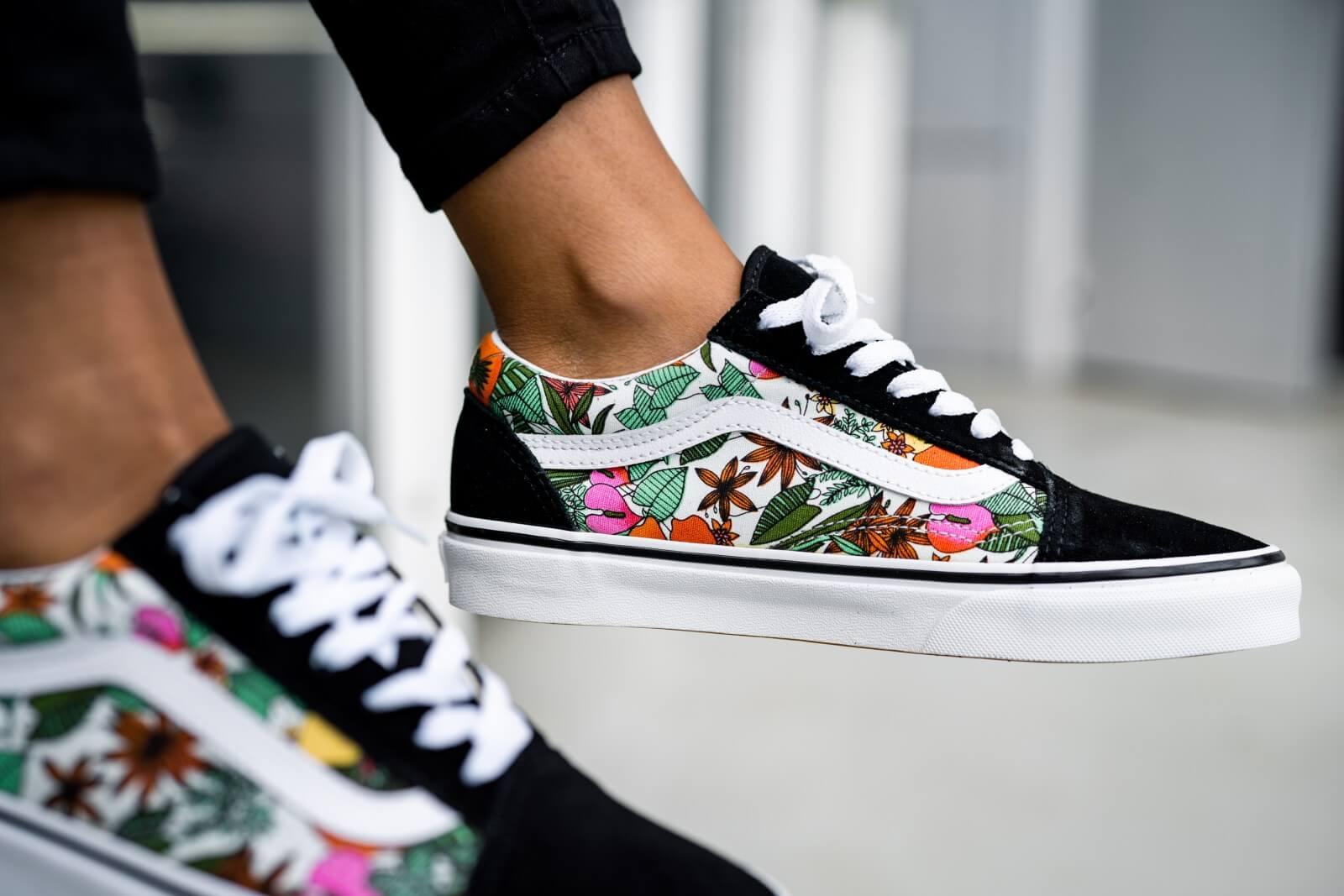 VANS Old Skool Tropical Sneaker Damen | Vans schuhe damen